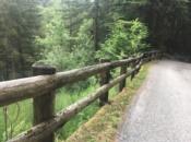 Barreira in legno protezione fauna