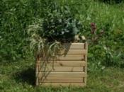 Fioriera in legno BASIC-Kit