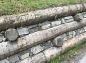 Opere contenimento scarpate in legno