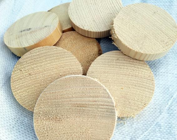 sottobicchieri in legno