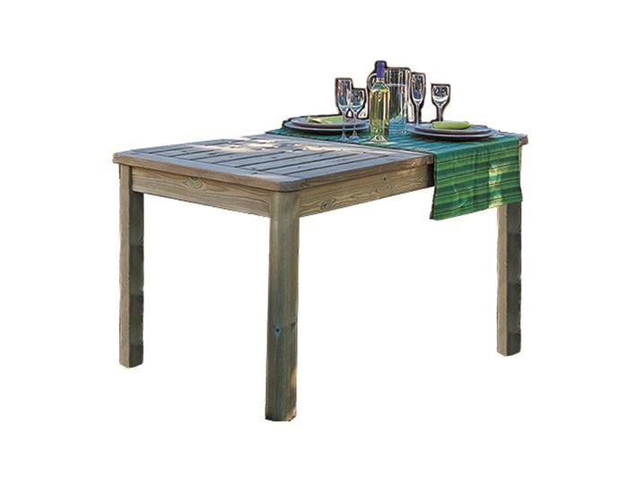 Tavolo Allungabile in legno da esterno - PRIMAVERA Cm 150 ...