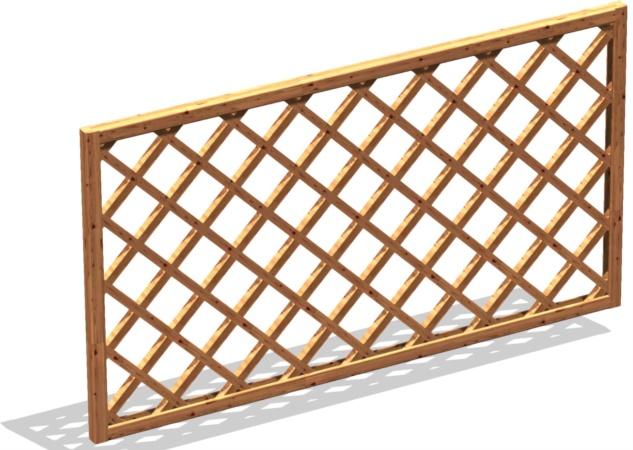 Grigliato legno per terrazzo