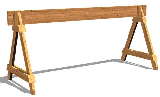 Transenne spartitraffico in legno
